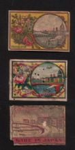 Collectible  match box labels CHINA or JAPAN patriotic #780